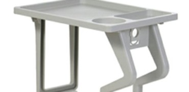 AquaTray Spa Side Table Gray