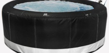 M Spa Model B-130 Camaro Hot Tub, 71 by 71 by 28-Inch, Gray