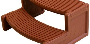 Handi-Step Spa Step, Redwood Color